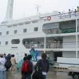 新島への船旅