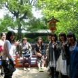 根津神社で一休み