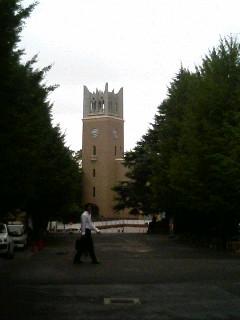 きょうは早稲田大学へ