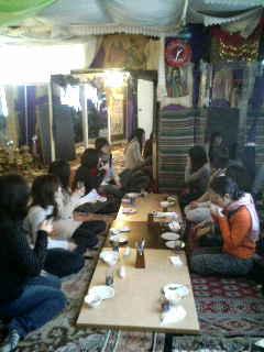 ペルシャ料理の会です〜(*^_^*)