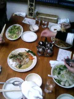 タイ料理の夕べ