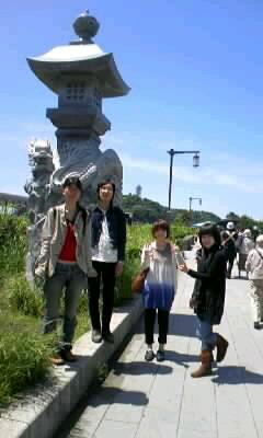 江ノ島〜鎌倉☆ハイクへ♪