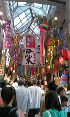 阿佐ヶ谷の七夕祭りへ